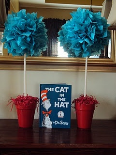 Cat In The Hat Custom Age Cake Topper, Dr. Seuss Toppers, Thing 1 Thing 2 Cake Topper, Dr. Seuss Party Decorations, Dr. Seuss Centerpiece by Perlao $ $ 18