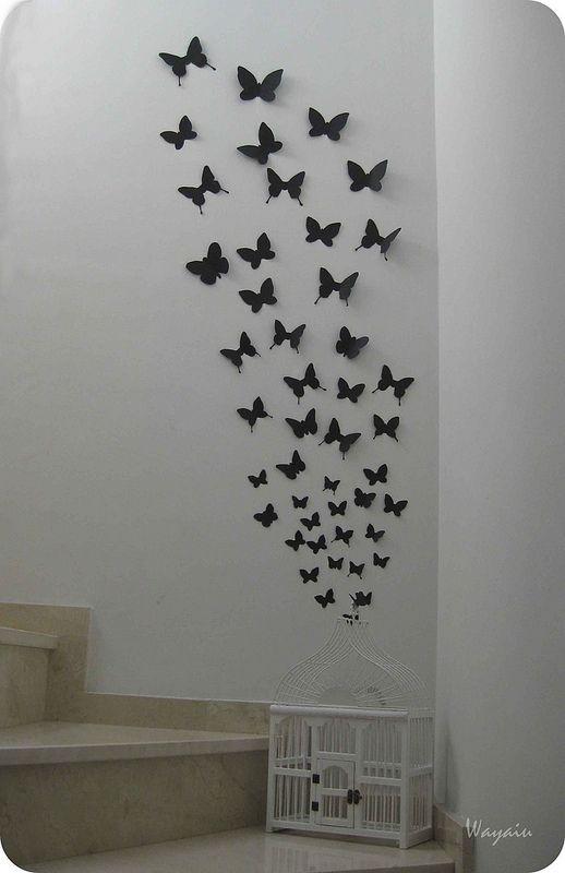 Mariposas ni de coña... Pero podría servir de inspiración para algo molón. Me lo guardo por si.
