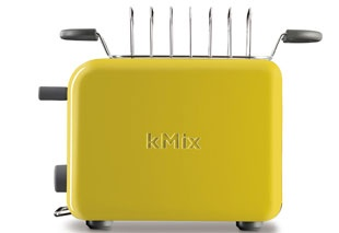 Kenwood kMix Boutique - Sun Kissed Yellow Toaster