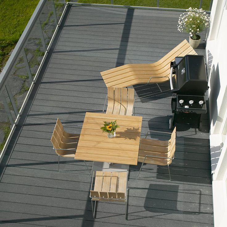 UPM ProFi Deck, Stone Grey, Vaasa, Finland
