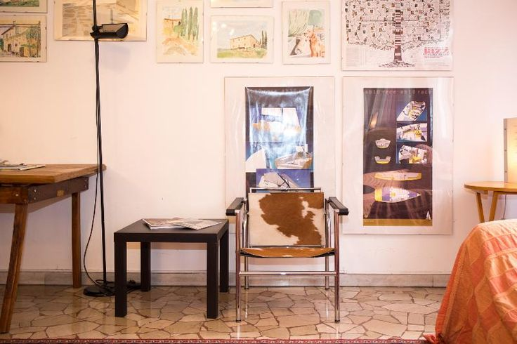 The big living room, with separate work, dinner, and relax areas - Beautiful flat in the  centre of Milano -  - rentals