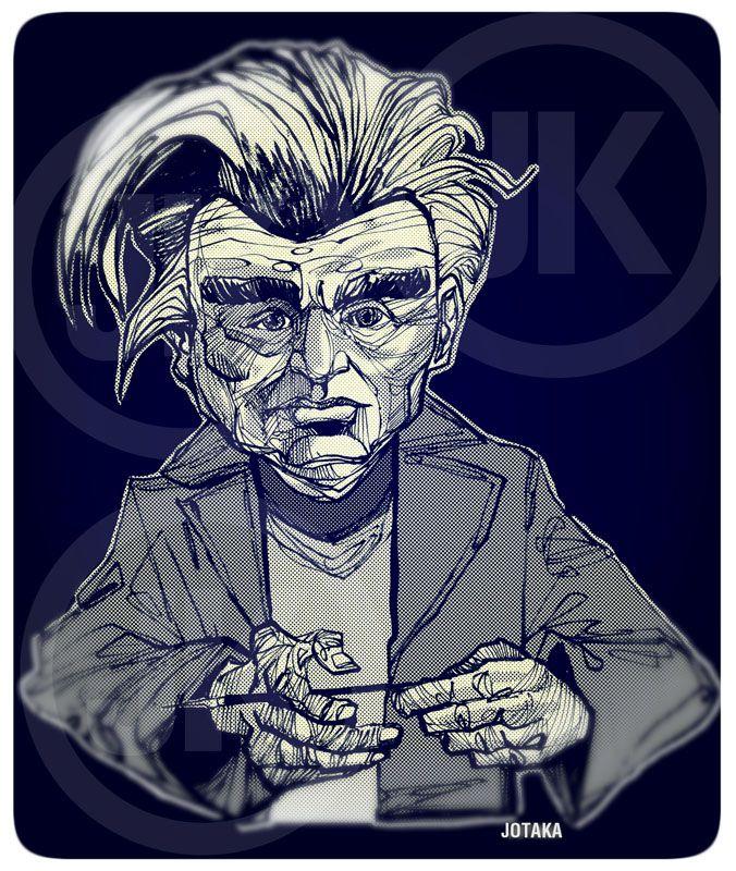 Emil Cioran by Juanka100
