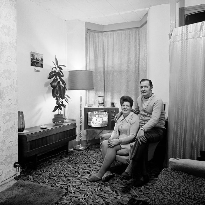 From the series June Street, photographed in Salford, 1973. © Daniel Meadows and Martin Parr