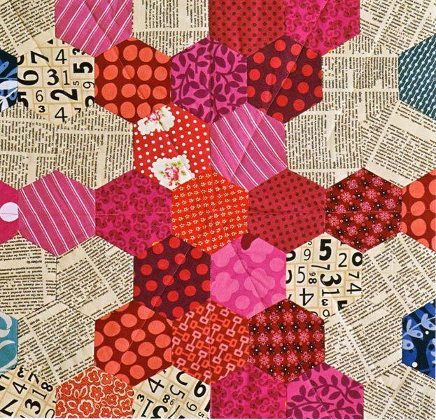 piece of union jack - Hexa Go-Go Pattern hexagon inspiration