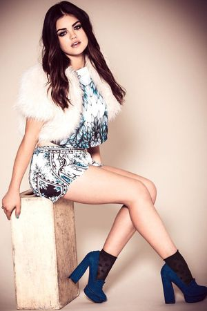 Lucy Hale photoshoot for Company magazine - She's rocking the Jurovas