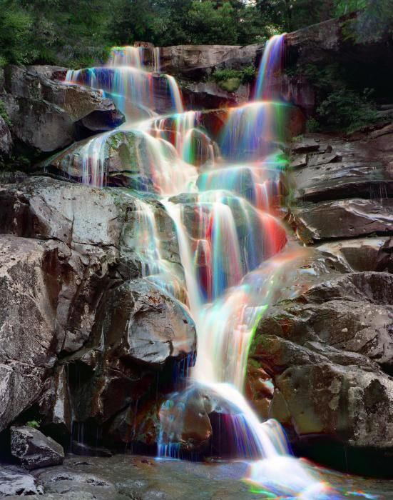 ✮ Rainbows in Ramsey Cascades - Great Smokey Mountain National Park: