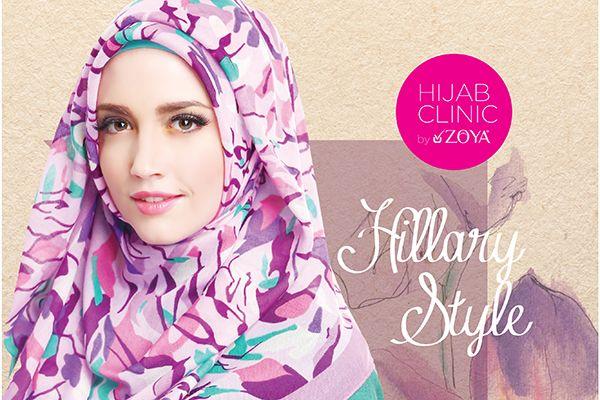 Hijab Tutorial: Hillary Style