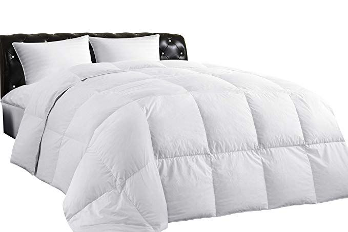 Amazon Com Lightweight Down Comforter Queen All Season Medium