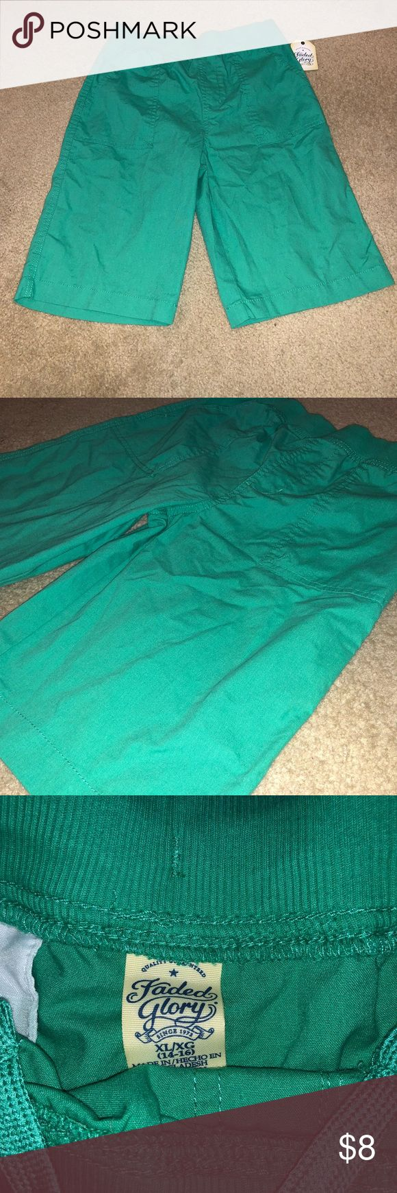 Teal shorts NWT Fits size 14/16 Bottoms Shorts