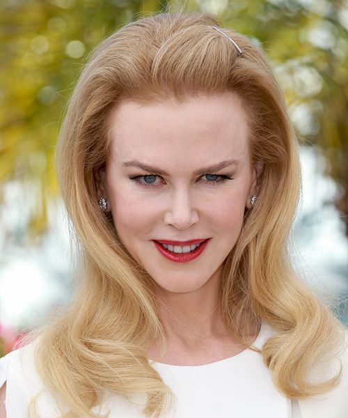 Nicole Kidman Hairstyle - Long Straight Formal - Light Blonde. Click to try on this hairstyle and view styling steps!