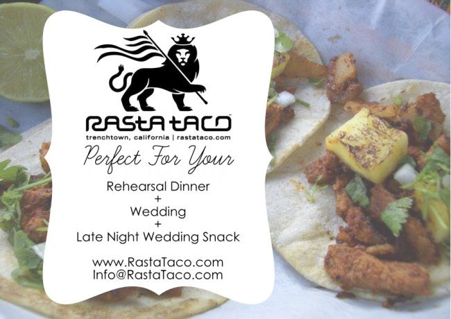 Wedding Taco Catering! Menu Planning made easy.