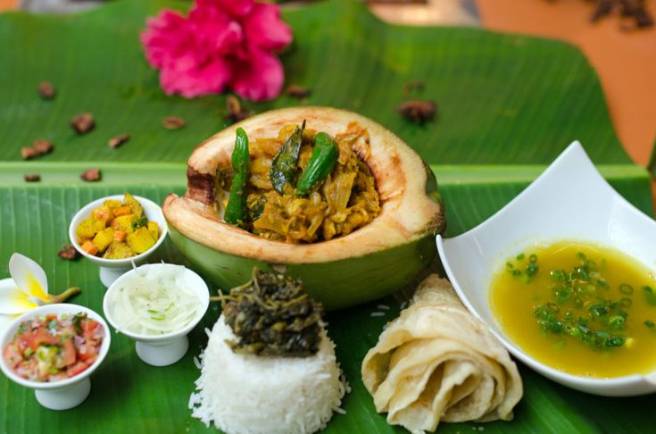 Mauritian Chicken Curry at Tamassa