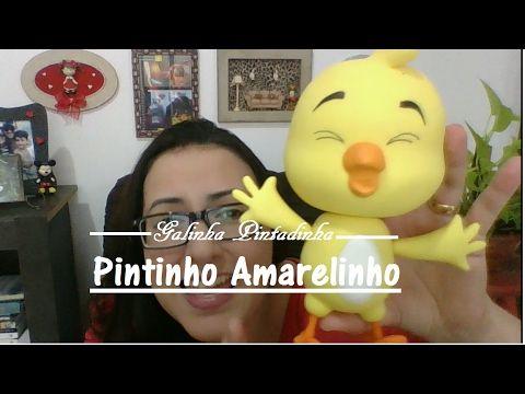 """Pintinho"" - Galinha Pintadinha - Massas para Biscuit Raquel Fontinele - YouTube"