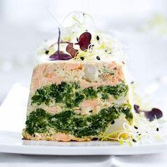 Découvrez la recette Terrine de saint-jacques et saumon sur cuisineactuelle.fr.
