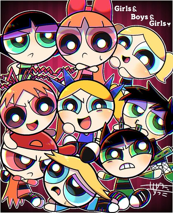 Think, that Powerpuff girls comic strips can not