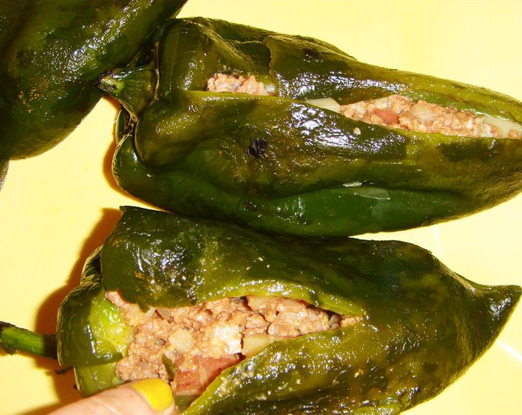 chiles rellenos de at250n y papa recipe tes and chile
