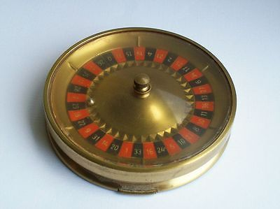 Unusual Vintage Novelty Roulette Working Powder Compact Makeup Vanity Case | eBay