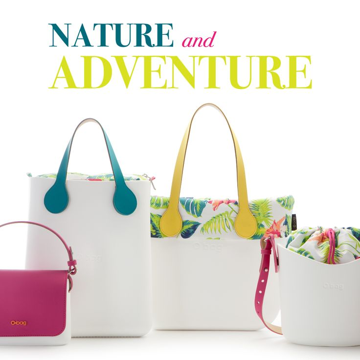 Nature & Adventure, Let's go Tropical!  ▶http://www.obag.it/nature-adventure.html #naturalstyle #nature #fresh #summer #ss16 #obag