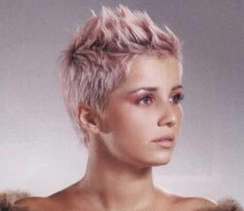 Voor dames die dol zijn op roze! 10 supermooie korte kapsels met zacht roze kleuren! - Kapsels voor haar