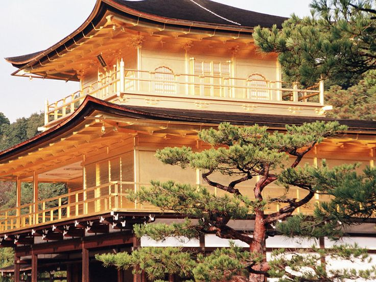 Kyoto, Stadt der Tempel: Der goldene Tempel Kinkaku-ji lockt jährlich tausende von Besuchern an  © CC David Sanz auf Flickr