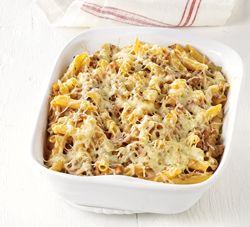 Pastagratin met gehakt, prei en tomaten Recept » Colruyt Culinair