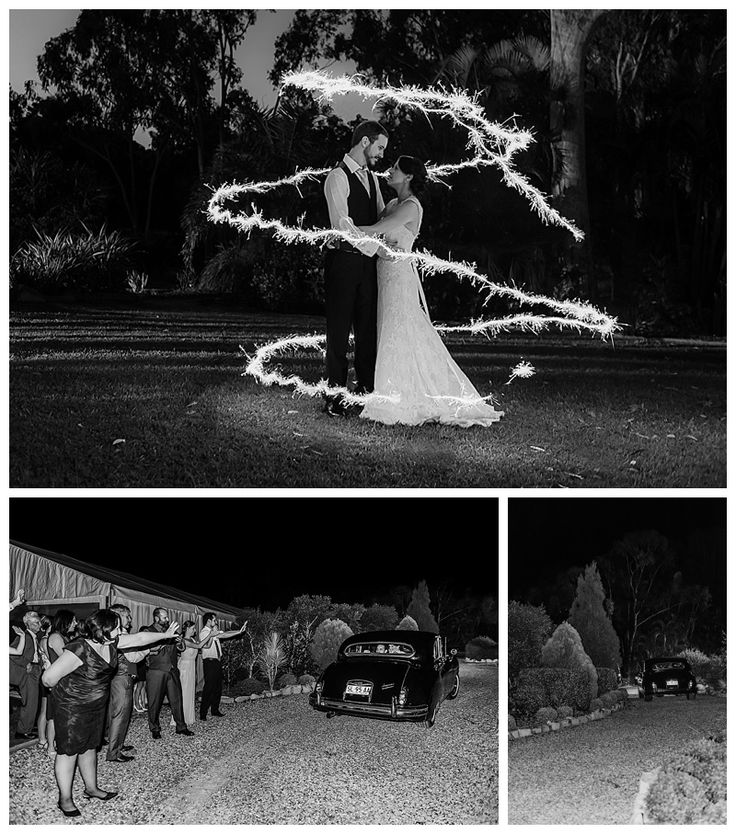 Sparkler shot, Cherbon Waters Wedding