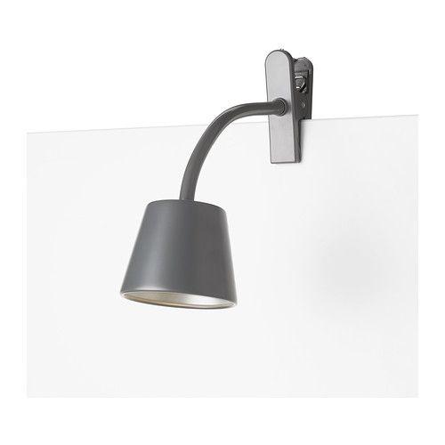 Ikea Tisdag Spot A Pince A Led Fin Et Leger Facile A Placer