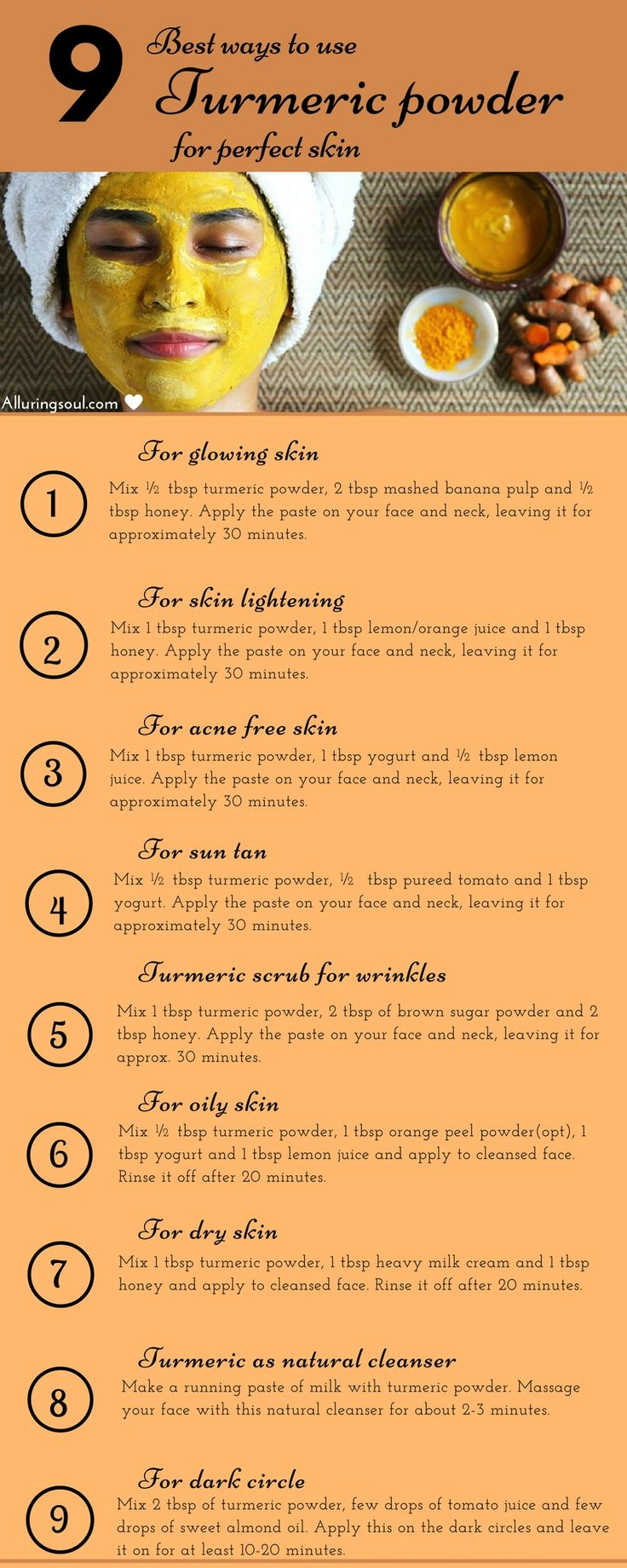 25+ best ideas about Turmeric Face Mask on Pinterest ...