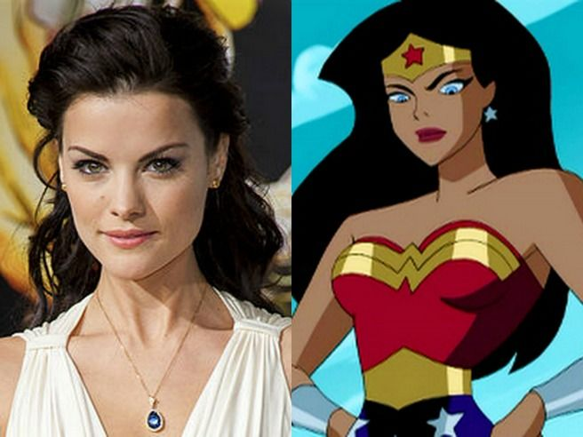 Jaimie Alexander looks exactly like wonder woman!!