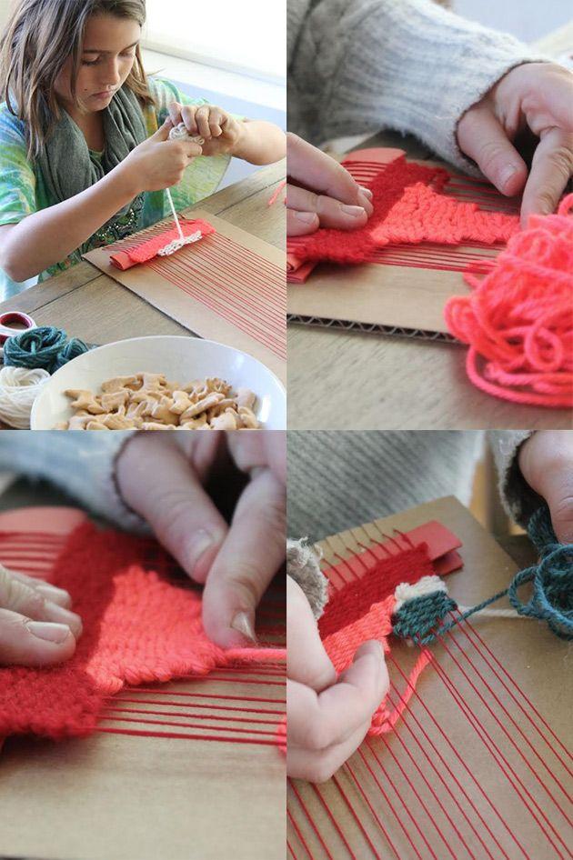 weaving 101 / playful learning