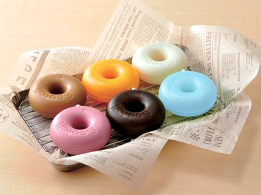donut-shaped tape dispensers