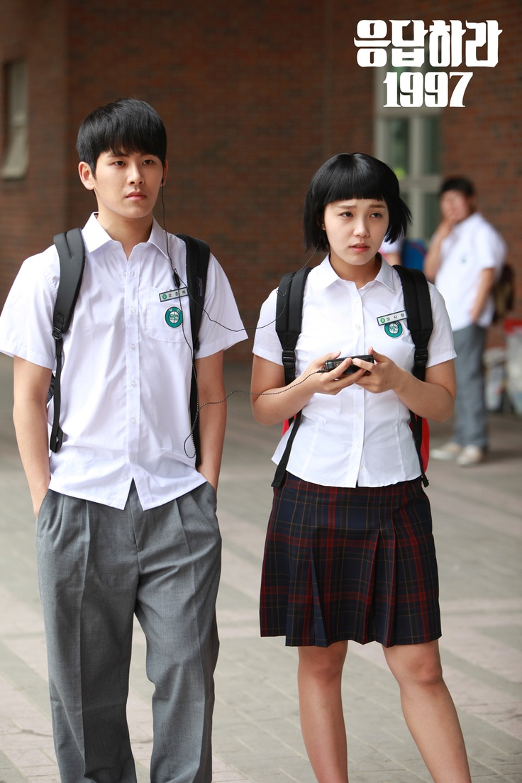 Apink Eunji High School Costume at Reply1997 / Old School Love