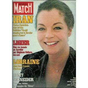 Paris Match - n°1551 - 16/02/1979 - Romy Schneider : Pour son retour, le triomphe du César [magazine mis en vente par Presse-Mémoire]