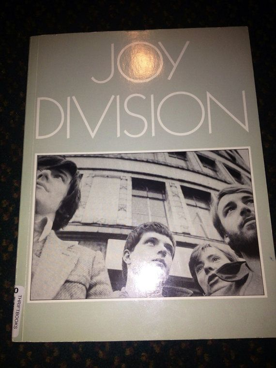 Joy Division rare vintage 1984 1st ed biography book, rare photos, equipment guide, discography & more Mint condition SALE for limited time on Etsy, $75.99