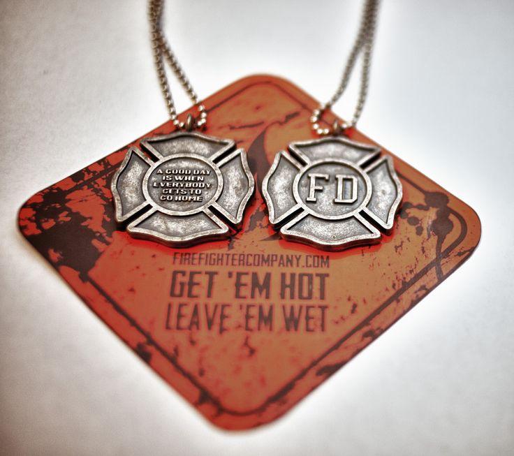 Fire Department Maltese Cross Necklace: 16 Best Firefighter Images On Pinterest