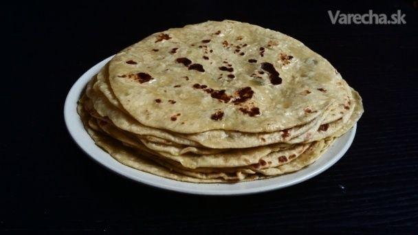 Domáce zemiakové lokše zo špaldovej múky (fotorecept)