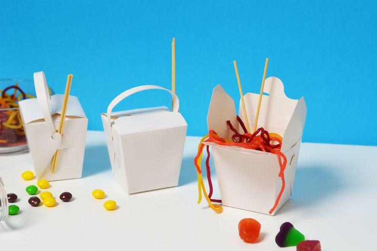 Party Favour: Candy Noodle Boxes