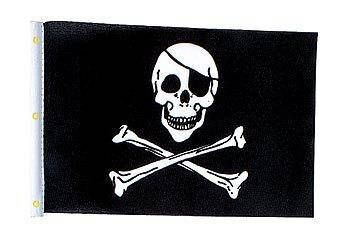 Fly our Skull And Crossbones Flag proudly to gather your fellow pirates for a party.