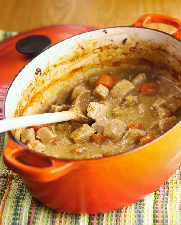 pork casserole with apple