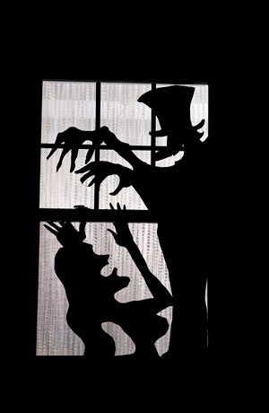 More collections of window silhouettes.  This one is Dr. Heckle & Mrs. Clyde