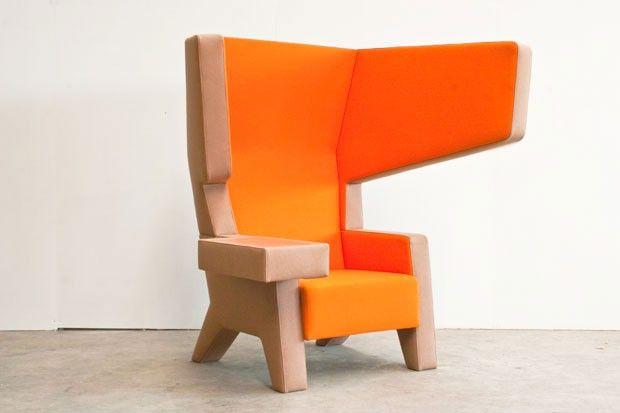 Jurgen Bey #001 EarChair | Flatland Design | DesignAddict