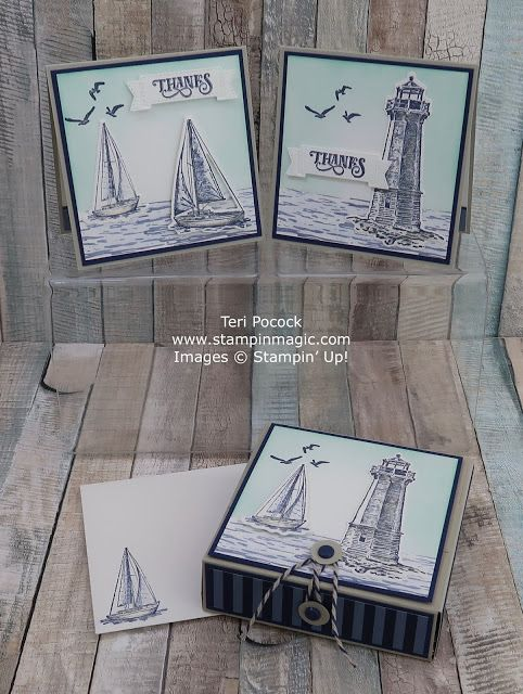 Wrap Box with Cards and Envelopes using Sailing Home – Video Tutorial