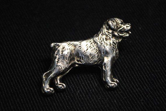Rottweiler dog pin limited edition ArtDog by ArtDogshopcenter