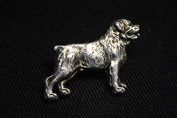 Rottweiler dog pin limited edition ArtDog by ArtDogshopcenter