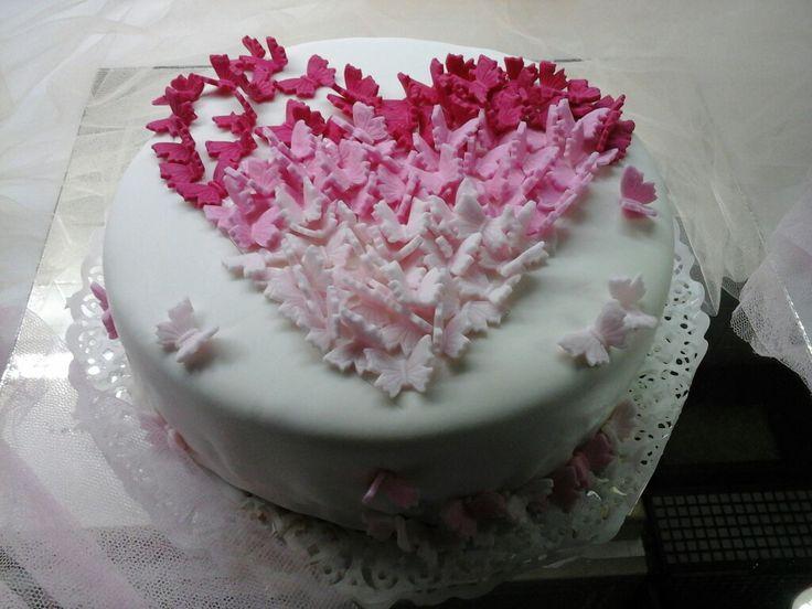 My cake for Cleo's birthday