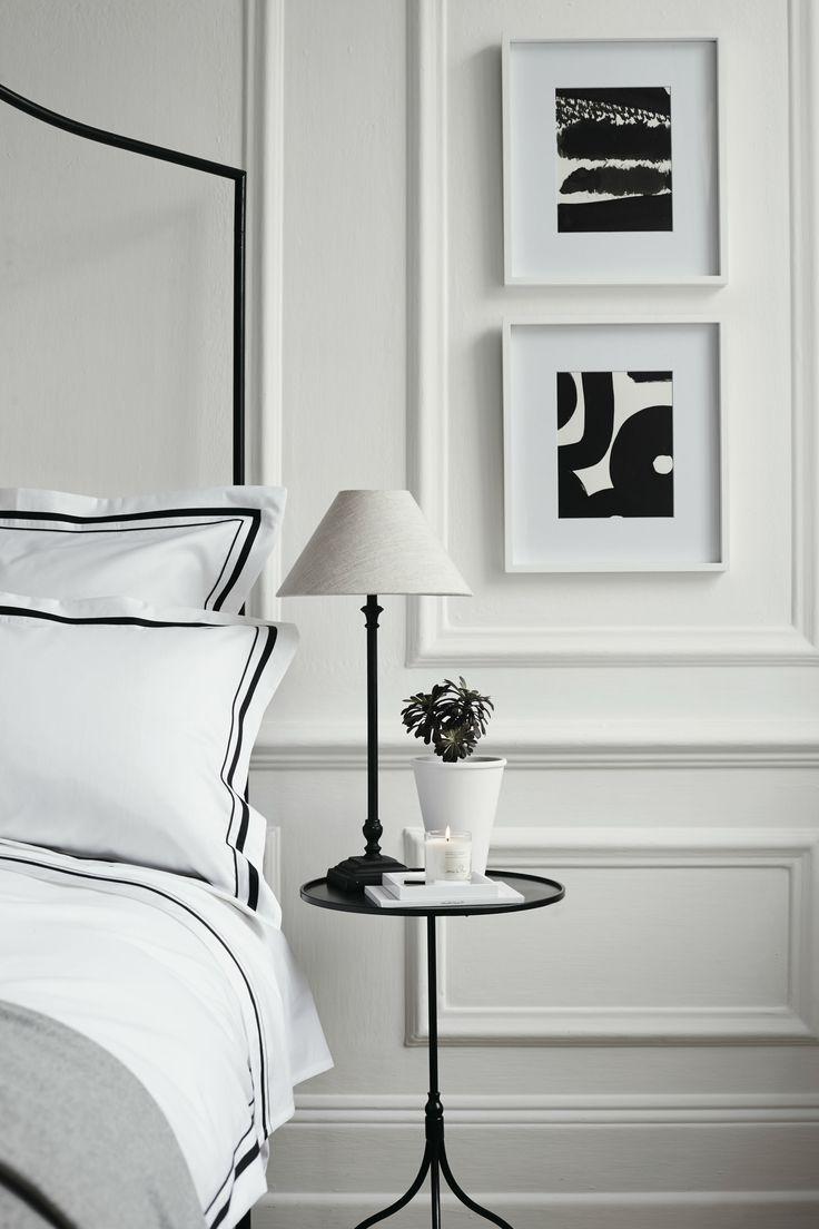 Cavendish bed linen collection in black u white decor ideas
