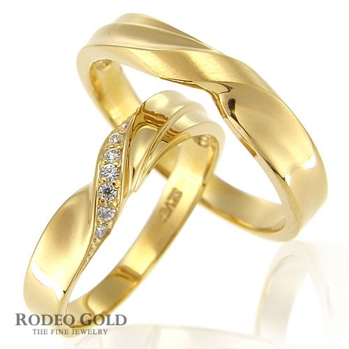 Gold wedding rings TCR52388