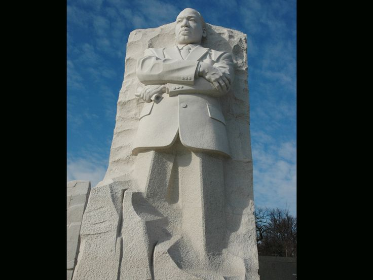 Stone of Hope at the Martin Luther King Jr Memorial
