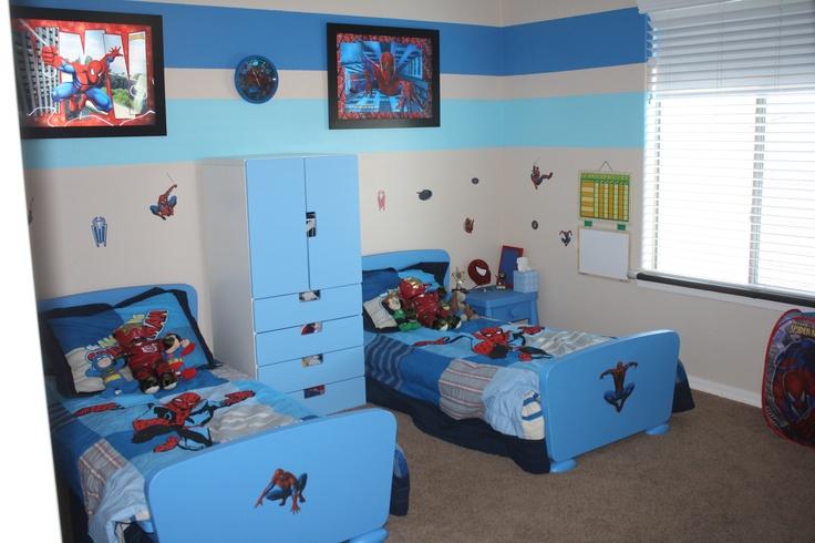 60 best images about spider man room on pinterest for Spiderman kids room