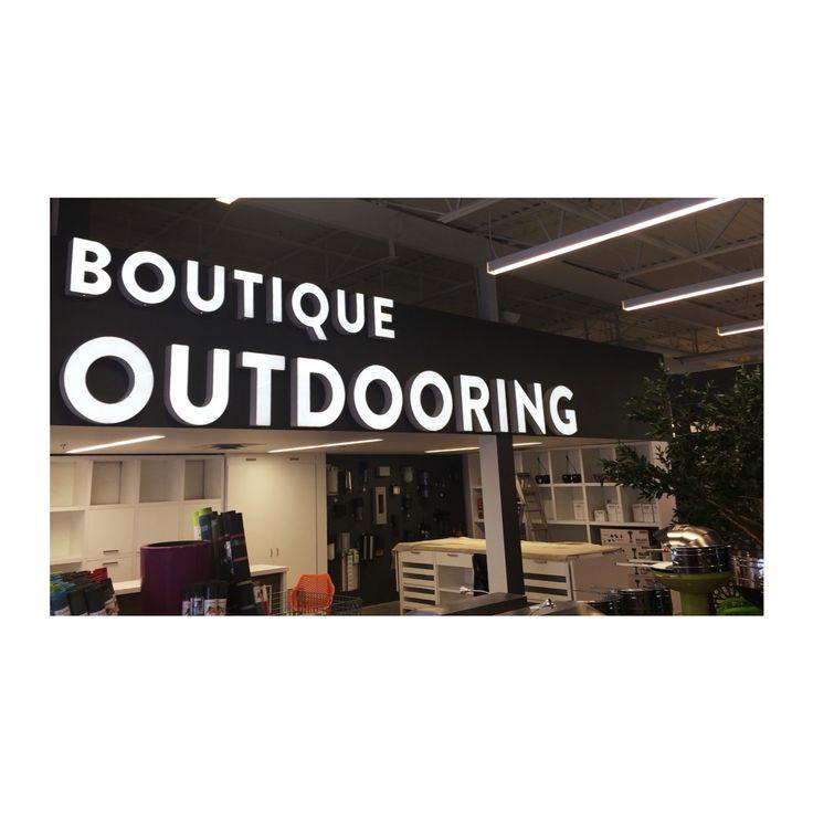 La boutique Outdooring est maintenant située dans la succursale Trévi de Laval !